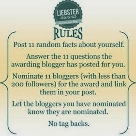 The Liebster Award – I've been nominated!