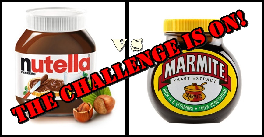 Foodie Friday – DEBATE: Marmite VS Nutella
