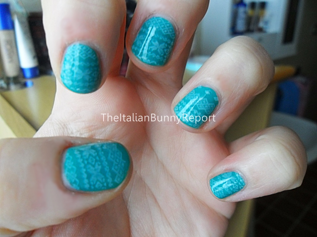 NOTD #8 – Anne of Green Gables inspired mani